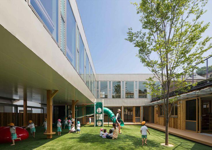 Image 1 of 26 from gallery of TAKENO Nursery / Tadashi Suga Architects. Photograph by Yoshiharu Matsumura
