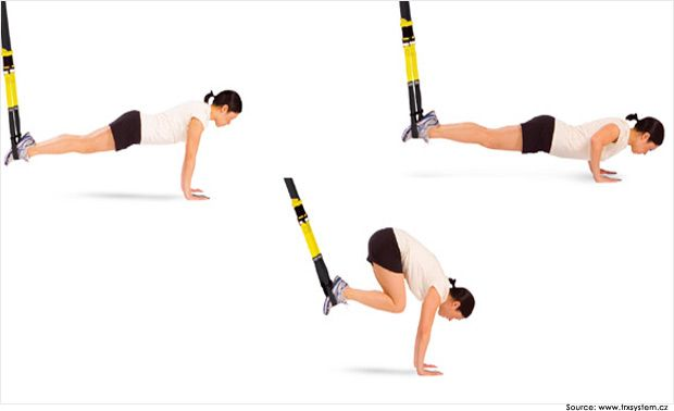 TRX Core Exercises for Beginners   TRX Exercises