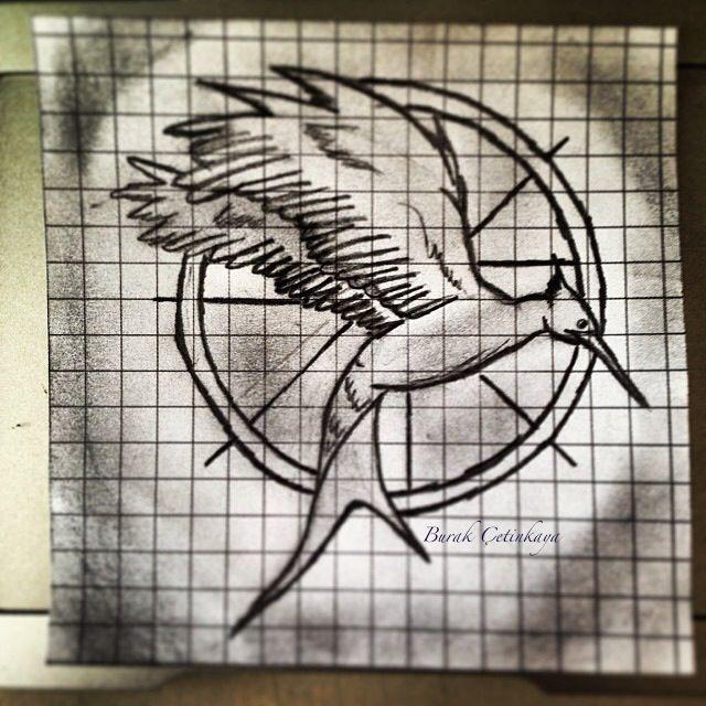 Mockingjay Drawing
