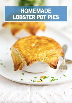 Bring the comfort of a Southern-style classic to your table this spring with this Lobster Pot Pies recipe. Made with a golden brown puff pastry crust and filled with warm lobster, potatoes, and broth, these personal pot pies are incredibly easy to make, and downright delicious!