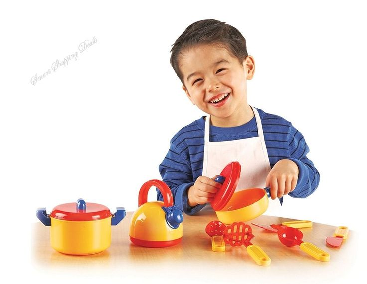 Pretend Play Cooking Set 10 pieces Food Toys Kids Cooking Children Kitchen Toy  #PretendPlayCookingSet