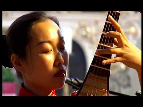 Música china: clásica obra maestra de Liu Tianhua(1895-1932), solo de guitarra china por Liu Fang - YouTube