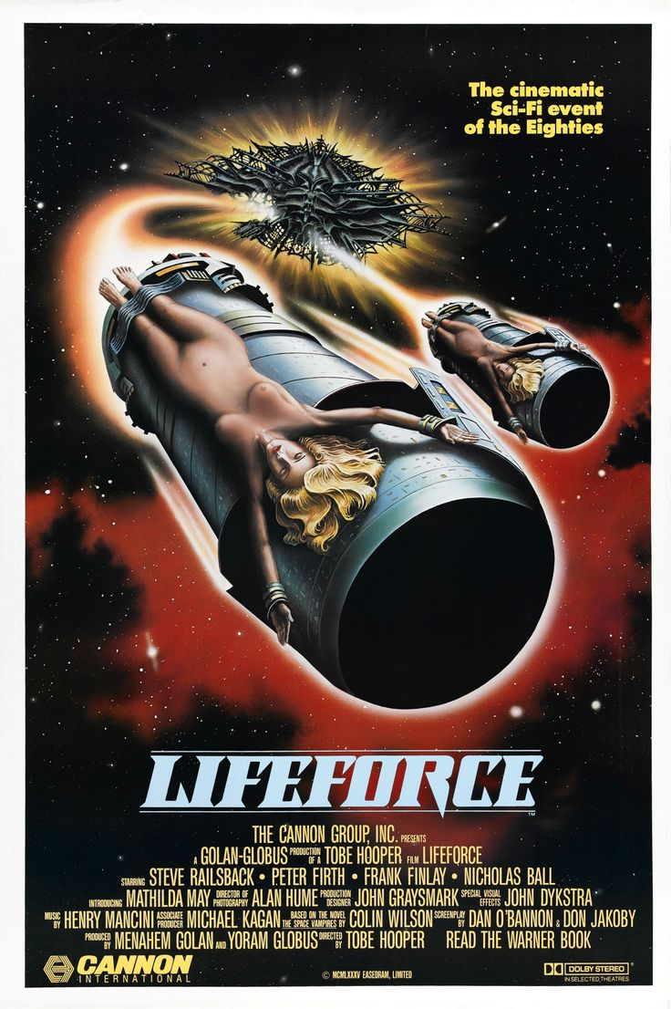 Lifeforce (1985) Lucky No.13 of my 31 days of horror movies. This movies has it…