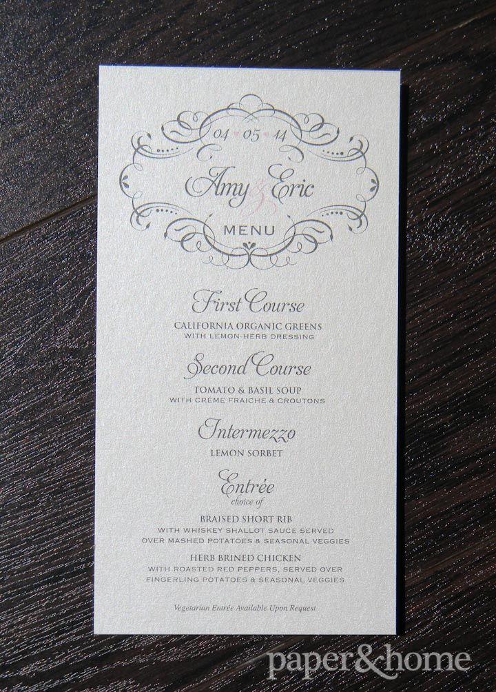 wedding invitations atlanta%0A Modern Classic Wedding Invitations  Amy  u     Eric   Best Classic wedding  invitations and Classic weddings ideas