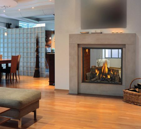 7 best TV wall images on Pinterest | Fireplace ideas, Double sided ...