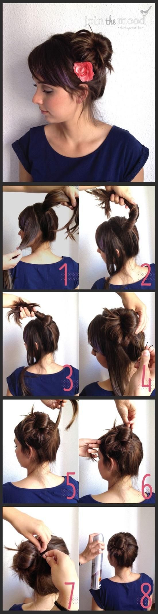 How To Do a Messy Side Bun - Hairstyles and Beauty Tips