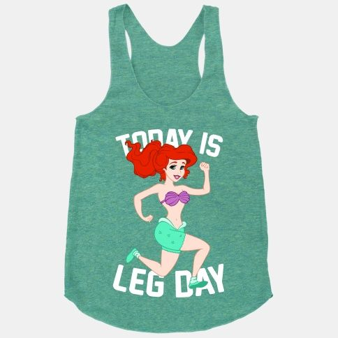 Today Is Leg Day   HUMAN So I totally want to wear this to the gym!