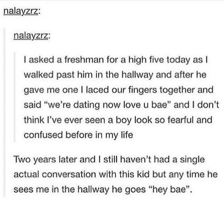 This seems like something my friends would do. And I would be be that confused kid.