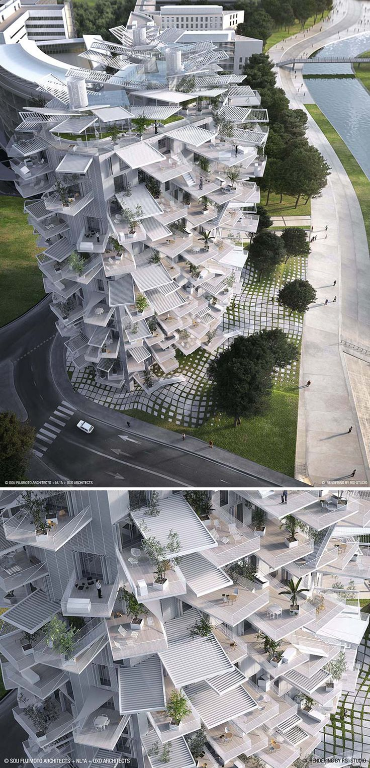 This Amazing High-Rise Apartment Building Looks Like A Giant Tree #theworldything #theything