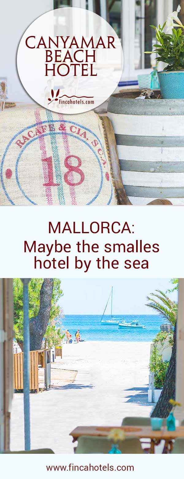 Holidays on Mallorca at the sea at Canyamar Beach Hotel in the bay of Canyamel: Get awake in the morning by the odour of the sea, listen to the sound of the sea gulls and see the deep blue mediterranean sea when looking out of the window. #canyamar #mallorca #canyamel #hotel #urlaubammeer #travel #tipp #strandhotel #meerblick #boutiquehotel