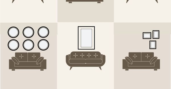 9 Increíbles maneras de colgar cuadros en la pared detrás de tu sofá. Ahora ya… … | Tecnología | Pinterest | Chang'e 3