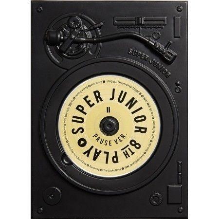 Yahoo!ショッピング - (予約販売)SUPER JUNIOR / PLAY PAUSE VER. [SUPER JUNIOR][CD]|韓国音楽専門ソウルライフレコード