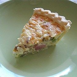 Easy Bacon and Cheese Quiche – the shiny woman