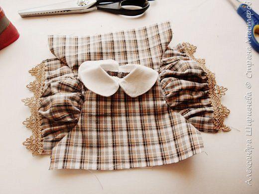 Здравствуйте, жители Страны Мастеров. Рада представить вам мастер-класс платья для куклы. фото 11
