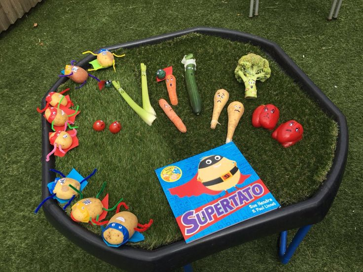 Supertato tuff tray