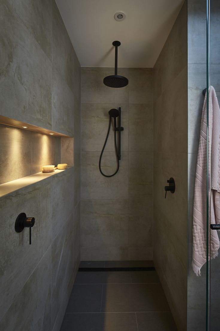 Matte blank tapware helps bring a modern touch to your bathroom #bunnings #tapware #bathrooms