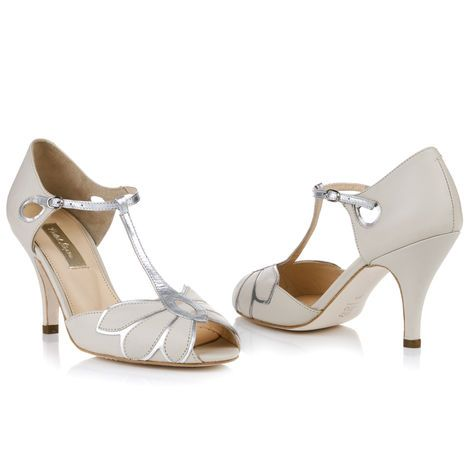 Rachel Simpson Shoes - Mimosa                        This would be such a nice add to a vintage wedding dress.