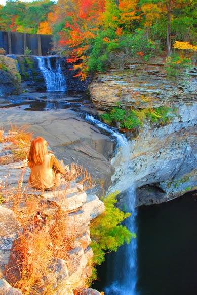 Desoto State Park-Desoto Falls- Lookout Mountain Alabama. - The year was 1540 and Hernando Desoto and his Army of Spanish Conquistadors were on their way down the Chattooga River...(read more of the history of this beautiful area at the website)