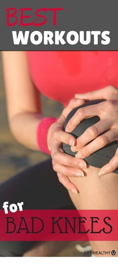 Yoga post on BEST WORKOUTS FOR BAD KNEES | Live Simply
