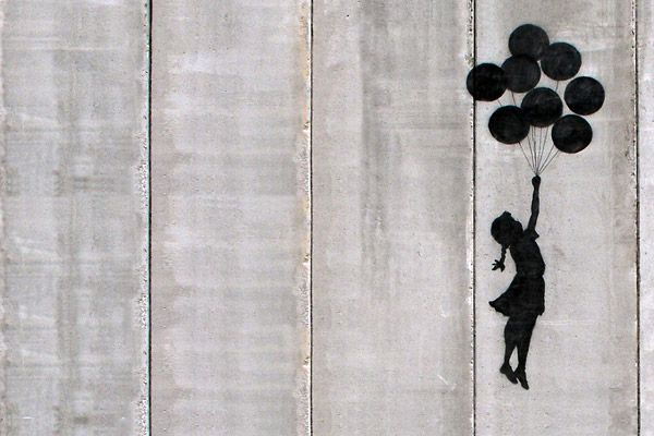 Flying Balloons Girl by Banksy: Canvas Prints, Flying Balloon, Street Art, Balloon Girls, Art Prints, Banksy Canvas, Art Al, Art Spir, Banksy Balloon