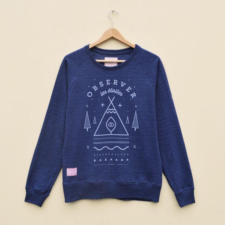 Stargazer Sweatshirt (Dusk Blue)