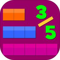 Thinking Blocks Fractions by Math Playground