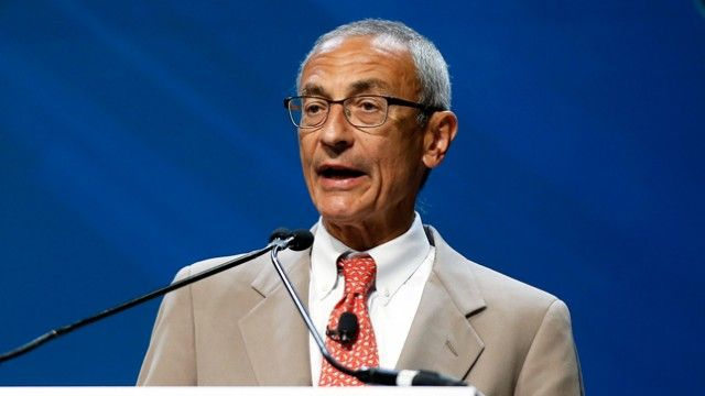 John Podesta goes after 'whack job' President Trump after being targeted in tweet