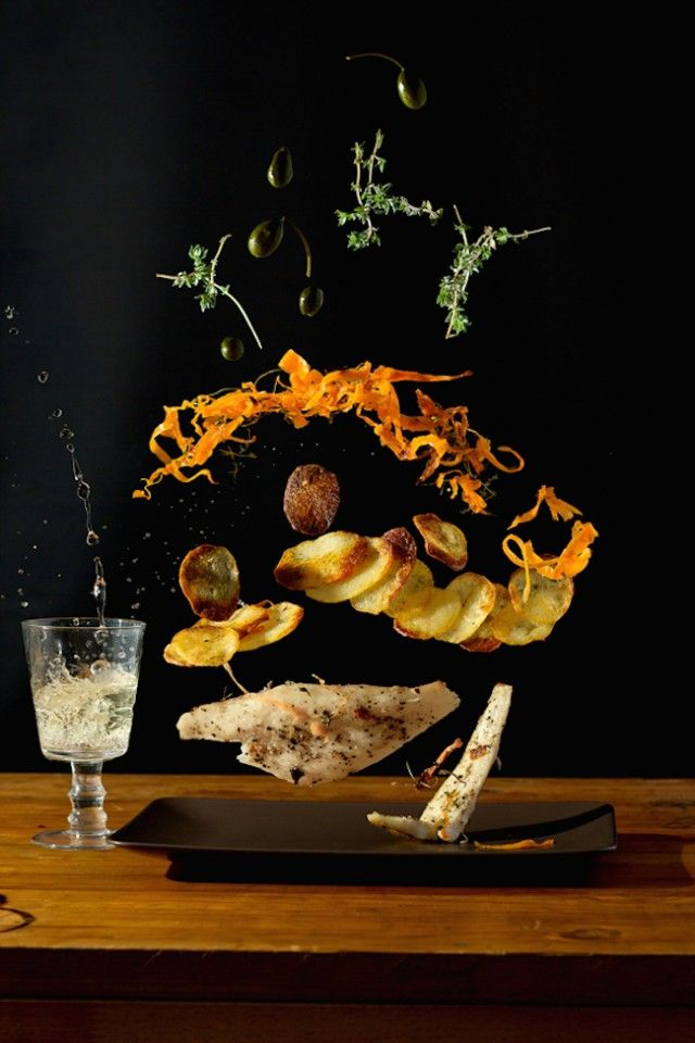 Recipe Photography Concept by Designer Nora Luther & photographer Pavel Becker