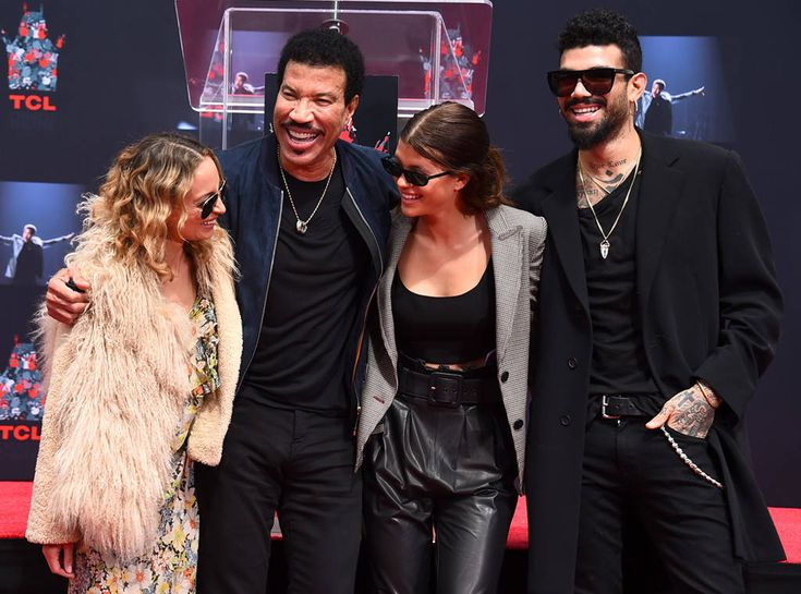 Nicole Richie, Lionel Richie, Sofia Richie & Miles Richie from The Big Picture: Today's Hot Photos