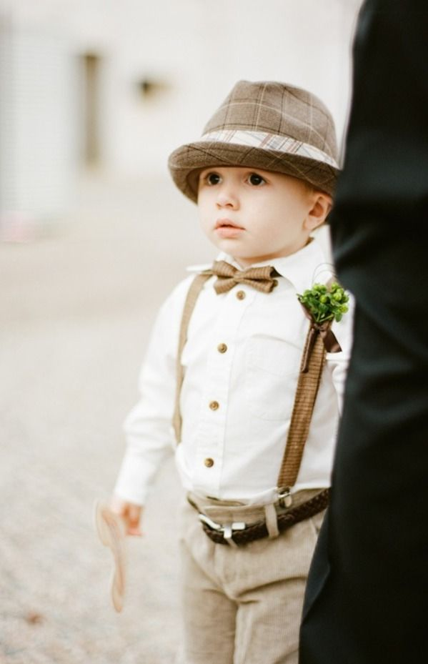Choose Best Ring Bearer Outfits To Make Your Wedding Party In Best Concept : Love The Outfit For Ring Bearer