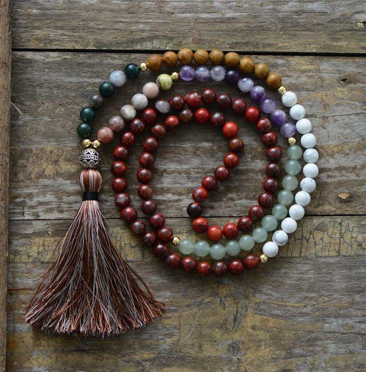 Handmade Necklace | Mala Necklaces | Yoga or Meditation Necklace
