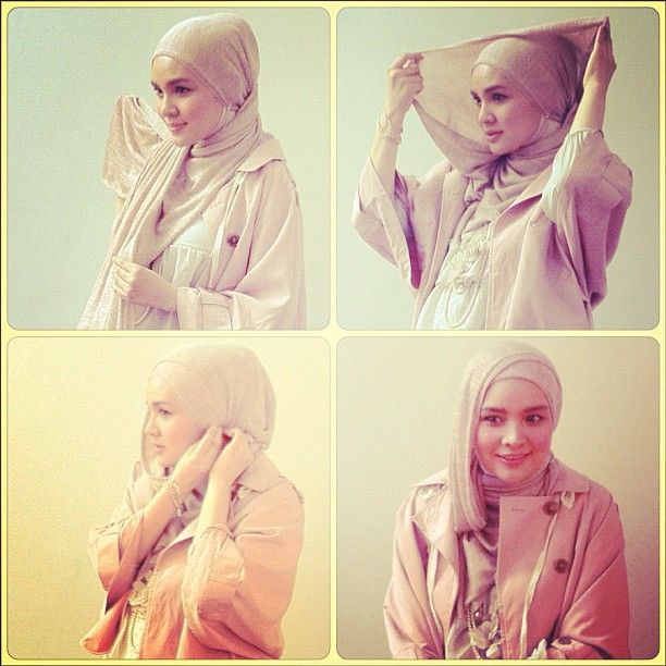 Chic and easy hijab tutor #1 by riamiranda.