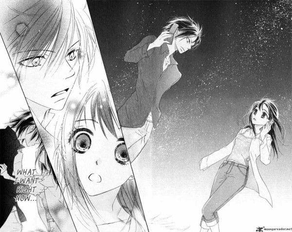 Kiss hug I really love this manga , it givw me hope ♡