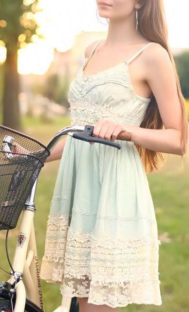 Mint & Lace Dress ♥ L.O.V.E.