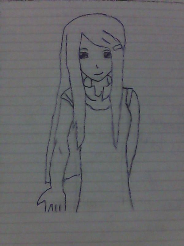 kushina uzumaki draw by me