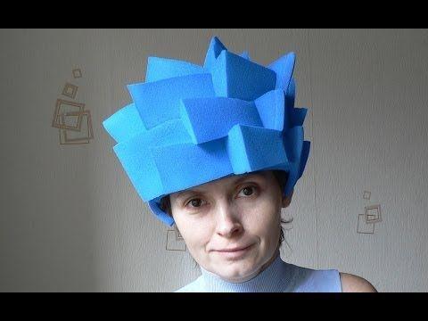 ▶ Фиксики. Как сделать шапочку-парик для костюма Симки. - YouTube