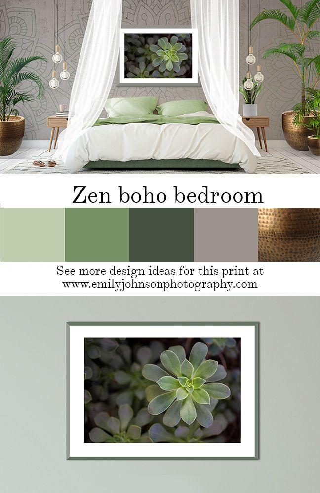 Zen Is Green Zen Bedroom Decor Relaxing Master Bedroom Calm Bedroom Decor