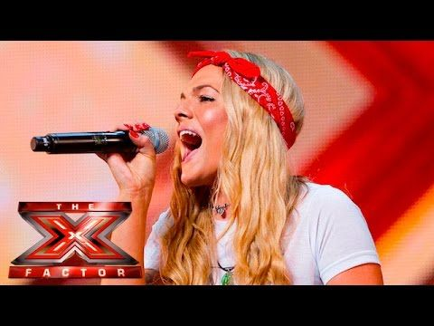 Soul singer Louisa Johnson covers Who's Loving You | Auditions Week 1 | ...
