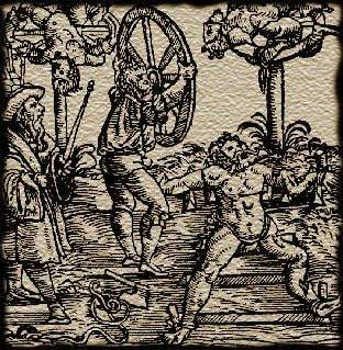 Disemboweled Feudalism: Most Grim Medieval Tortures: Breaking Wheel