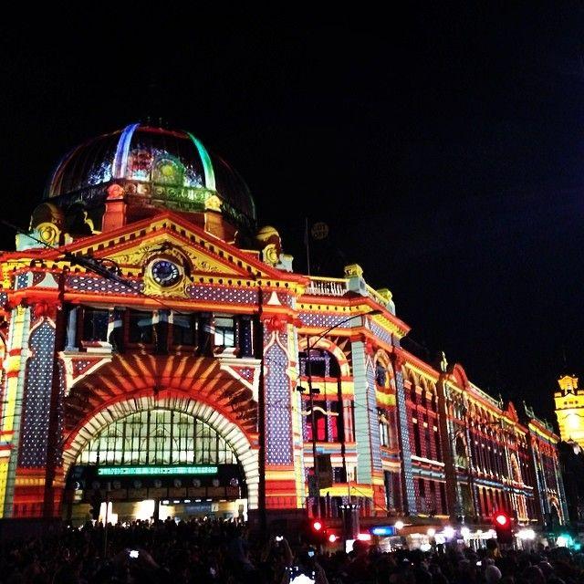 White Night Festival in Melbourne, Australia @adamjhamilton7