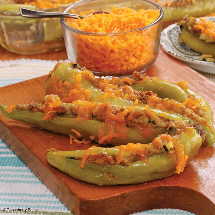 Gooseberry Patch Recipes: Oh-So-Hot Banana Peppers from our new cookbook Easy Classic Casseroles