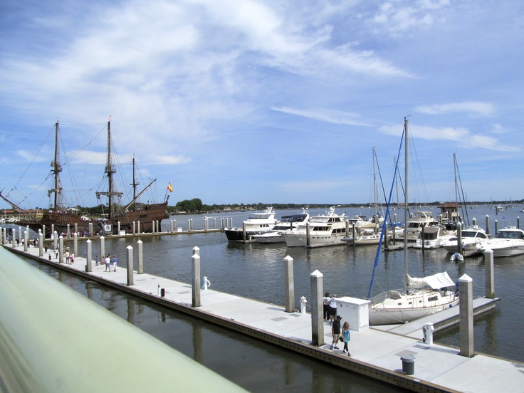 El Galeon and the St. Augustine City Marina
