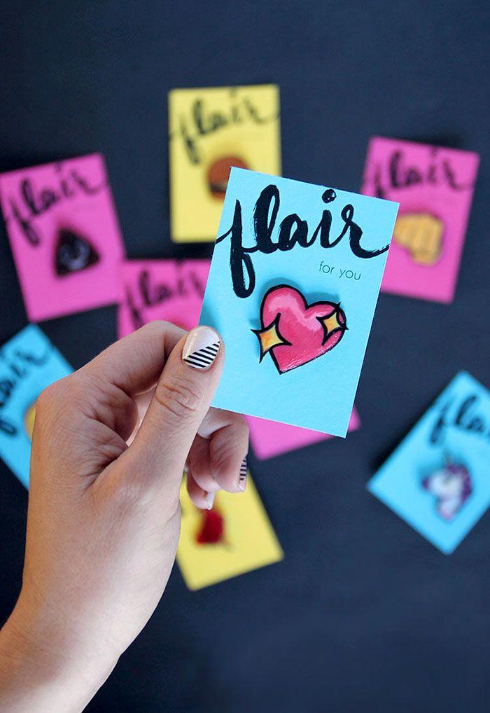DIY Lapel Pins - Emoji Pin Flair!
