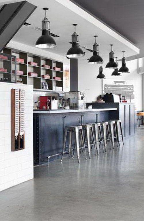 West Egg Cafe Interior Design, Restaurant Design, Bar