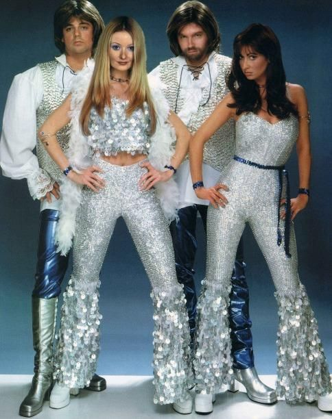 this is happening - ABBA Disco Costumes