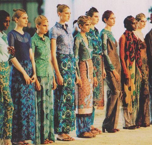batik couture: dries van noten '10