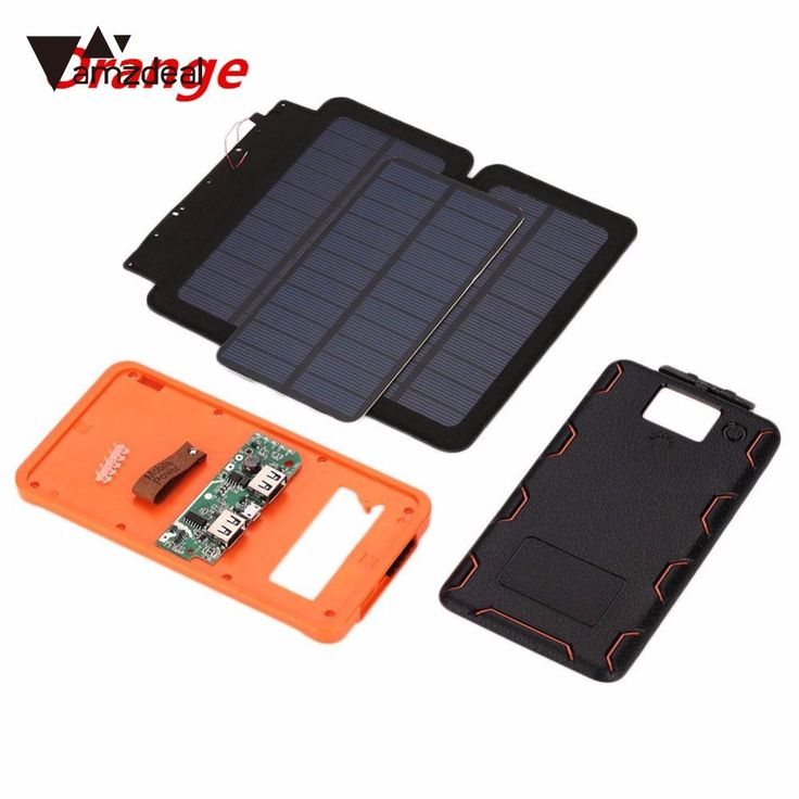 check price amzdeal portable assembling led light dual usb 3 foldable sunpower solar panel power #diy #solar #panel #kits