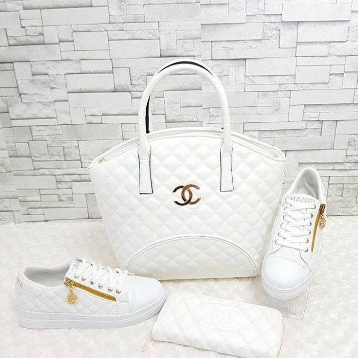 💎Chanel💎                                 👕All White👕                            👜Purse•Wallet•Sneakers👜