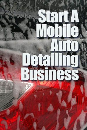The great thing about a Mobile Auto Detailing business is that at startup, you can run it part-time, on weekends or flexi – anytime you get a client appointment. You can even run it from home – basically all you need is a telephone and appointment book and you're set to go.