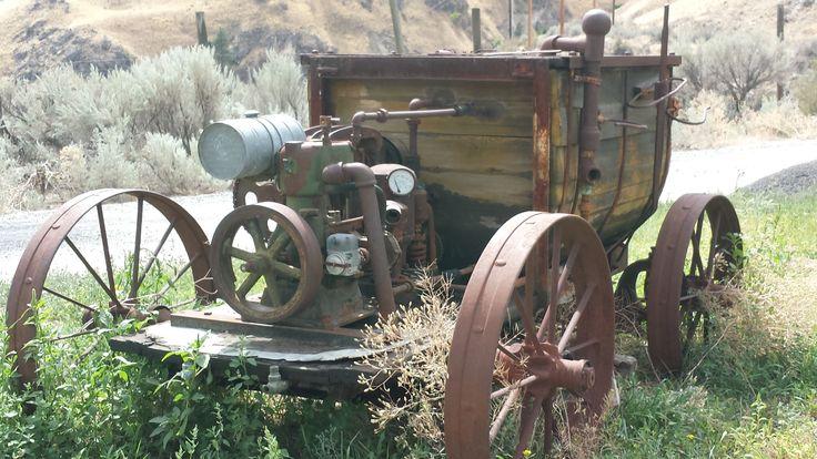 Old Motorized Crop sprayer